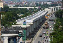 ニョン~ハノイ駅間のメトロ電車の車両:2020年頭にベトナムに到着1